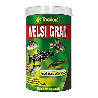 Tropical Grainy Welsi 250 Ml (Fish , Food , Warm Water)