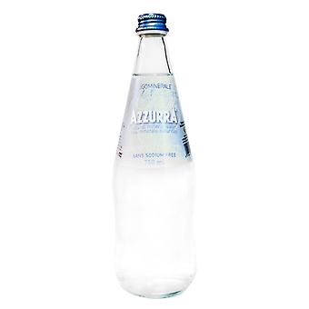 Azzurra Natural Water-( 750 Ml X 12 Cans )