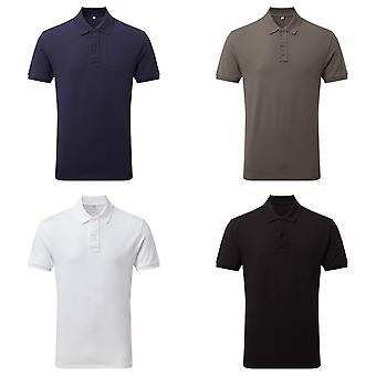 Asquith & Fox Mens Infinity Stretch Polo-Shirt