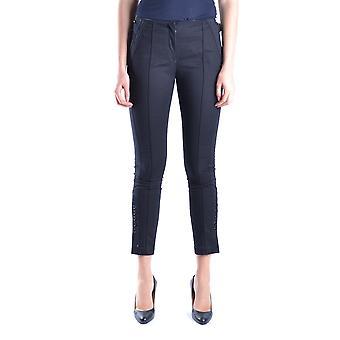 Isola Marras Ezbc255012 Women's Black Cotton Pants