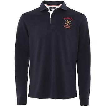 Hackett Classic Fit Armee Rugby Shirt