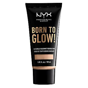 NYX Born To Glow Naturally Radiant Foundation 30ml - Vanille