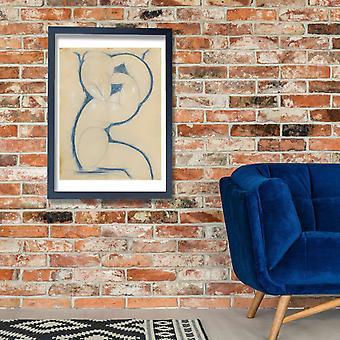 Amedeo Modigliani - Caryatid Poster Print Giclee
