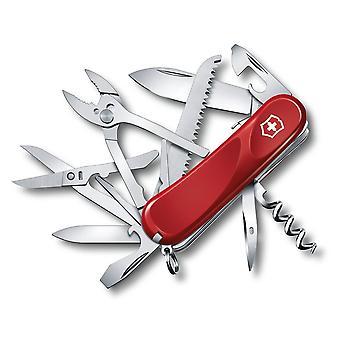 Victorinox Swiss Army Evolution S52 Multi-Tool Knife, Red, Box #2.3953.SE-X2