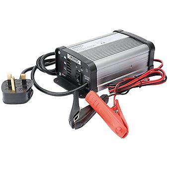 Cargador de batería inteligente de 6/12V 6A Draper 38254