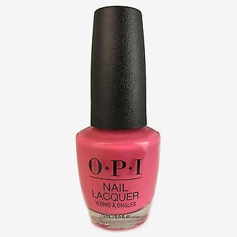 Laque d'ongle d'Opi - rose éléphanttique 0.5 oz