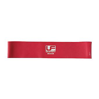 Urban Fitness Gym Training Physio Resistance Band Loop 12 Inch Red - Medium