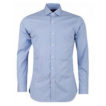 Polo Ralph Lauren Custom feine Streifen Ausbreitung Kragen Hemd