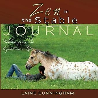 Zen in the Stable Journal Large journal lined 8.5x8.5 by Cunningham & Laine