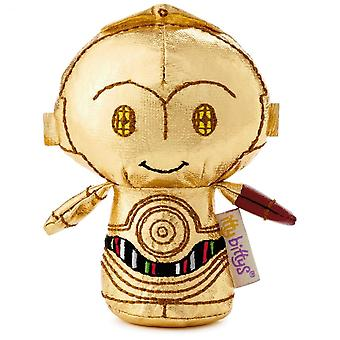 Hallmark Itty Bittys Star Wars C3po With Red Arm Limited Edition