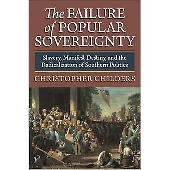 L'échec de la souveraineté populaire - Esclavage - Manifeste Destin et e