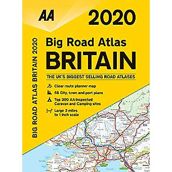 AA Big Road Atlas Britain 2020 - 9780749581299 Book