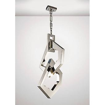 Ricadi Pendant 8 Light Gu10 Stainless Steel (item Requires Assembly)