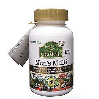 Nature's Plus Source of Life Garden Organic Mens Multi Tabs 90 (30741)