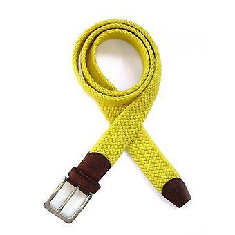 Tyler e Tyler tecida correia - amarelo