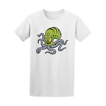 Zombie Alien Octopus Tee Men's -Image by Shutterstock