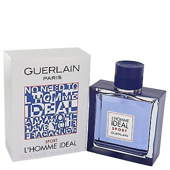 L'homme Ideal Sport Eau De Toilette Spray By Guerlain 3.3 oz Eau De Toilette Spray