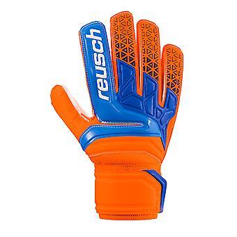 Reusch Prisma SD Mens Torwart Torwart Handschuh Orange/Blau