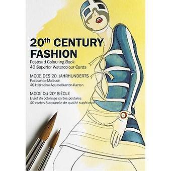 20th Century Fashion - Postcard Colouring Book by Pepin Van Roojen - 9