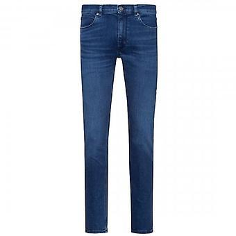 HUGO Boss 734 Mid Blue Skinny Denim Denim Jeans 423 50426669