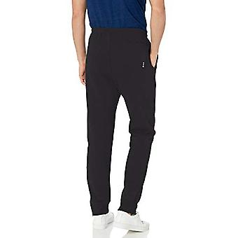 Champion LIFE Men's French Terry Jogger, Black, Large
