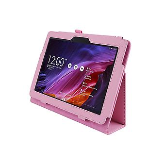 Magnetic PU Leather Case Cover for Asus Transformer Pad TF103C [Pink]