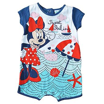 Minnie Mouse baby romper, Blå