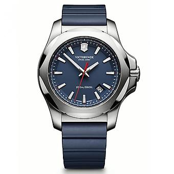 Victorinox Swiss Army Watches 241688.1 I.n.o.x Blue Rubber & Steel Swiss Watch