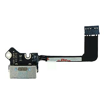 For MacBook Pro 13.3 - A1502 - DC in Power Jack Board Cable - 820-3584-A - 2013 - 2015