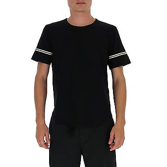 Saint Laurent 624992ybuw21095 Män's Black Cotton T-shirt