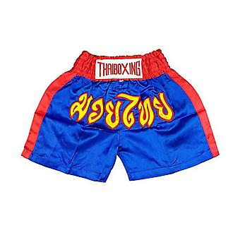 Muay Thai Boxing Short Trunks Satin