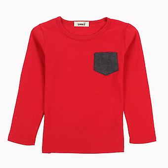 Long Sleeve Candy O-Neck Tee -Design 2 -Infant