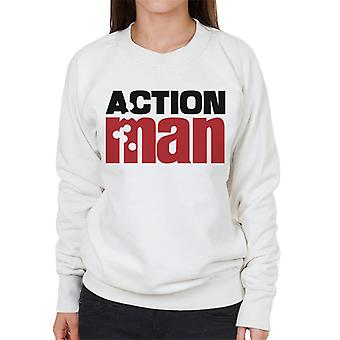 Action man logo kugler dame ' s sweatshirt