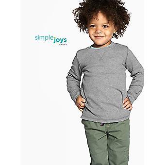 Semplice gioia di Carter's Boys' Toddler 3-Pack Camicie termiche a maniche lunghe, grigio...
