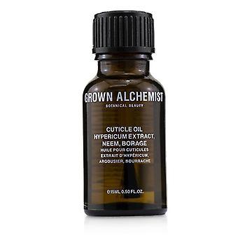 Grown Alchemist kutikula olaj-Hypericum kivonat, Neem & Borage 15ml/0.5 oz