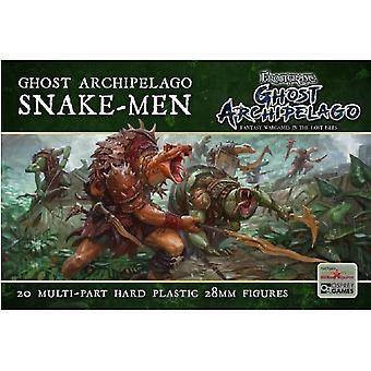 Ghost Archipelago Snake Men - 20 Multipart Plastic 28mm Figures