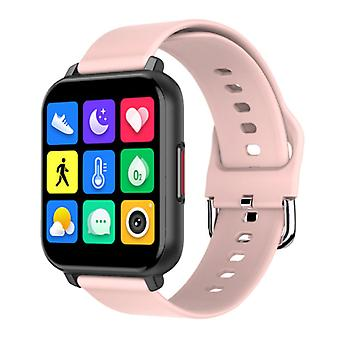 Nennbo T82 Smartwatch Smartband Smartphone Fitness Sport Activity Tracker Watch IPS iOS Android iPhone Samsung Huawei Pink