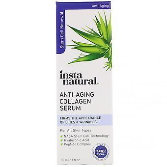 InstaNatural, Anti-Aging Collagen Serum, 1 fl oz (30 ml)