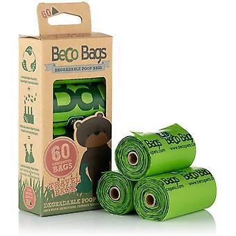 Beco Unscented Biologisch Afbreekbare Kak zakken - 60 zakken