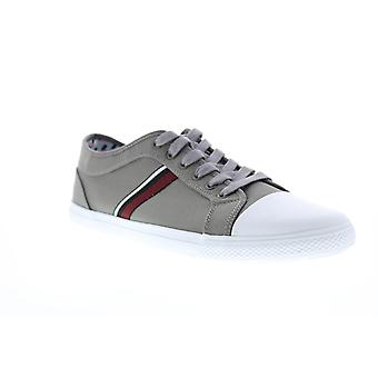 Ben Sherman Madison Ox Miesten Harmaa Canvas Lifestyle Lenkkarit Kengät