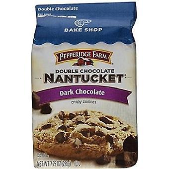 Pepperidge Farm doppelte Schokolade Nantucket dunkle Schokoladen-Plätzchen