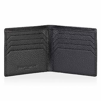 Slate Grey Richmond Leather Billfold Wallet
