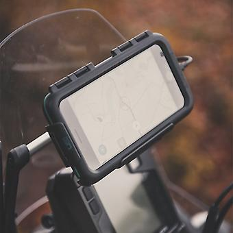 Samsung galaxy s9 s9+ waterproof case motorcycle crossbar mount
