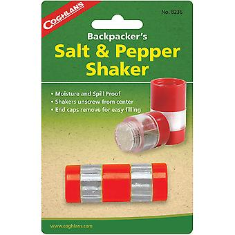 Coghlan's Backpacker's Salt & Pepper Shaker, Moisture and Spill Proof, Camping