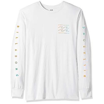 Billabong Men's Unity Sleeves Long Sleeve T-Shirt White Medium