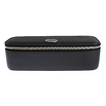 Dolce & Gabbana Svart Skinn Smykker Solbriller Case Bag Arrangør SIG16366