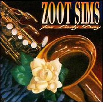 Zoot Sims - For Lady Day [CD] USA import