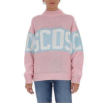 Gcds Cc94w02111406 Dames's Roze Wollen Trui