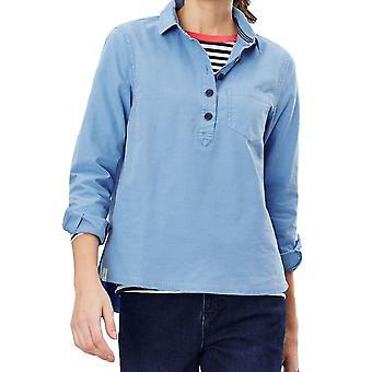 Joules Ashbrook Pop Over Deck Shirt (lido Blauw)