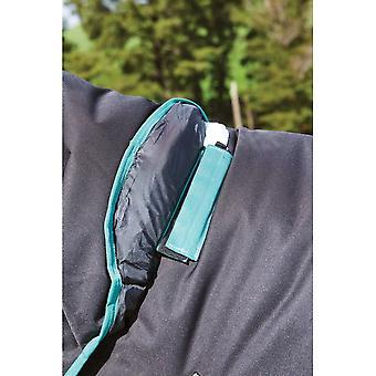 Weatherbeeta Green-tec 900d Detach-a-neck Medium - Black/bottle Green